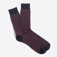 Bird's-eye socks