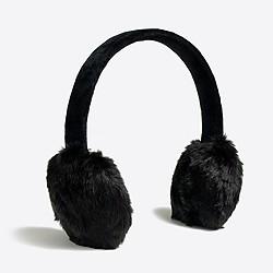 Faux-fur earmuffs