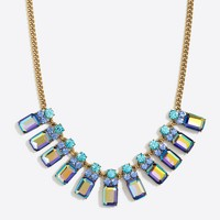 Crystal columns necklace