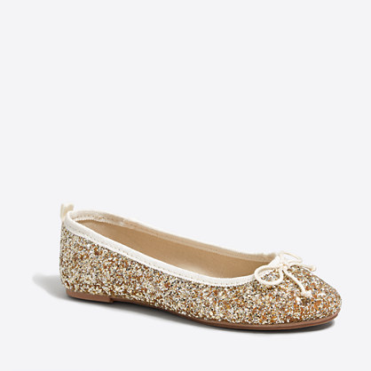 Find and save ideas about Flower girl shoes on Pinterest. | See more ideas about Girls shoes, Girls wedding shoes and Gold flower girl shoes. For Madi of courseFlower girl shoes Glitter Ballet Flats Shoes at Boden Find this Pin and more on Kid Style by Barbara Kasten. Ive spotted this Glitter Ballet Flats Golden.