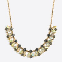 Cluster parade necklace