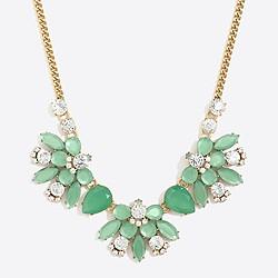 Cluster emblem necklace