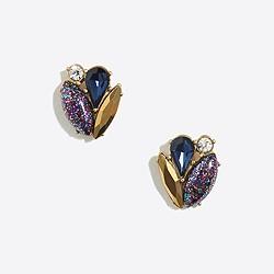 Sparkle cluster earrings