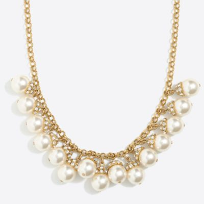 Pearl accent necklace   sale