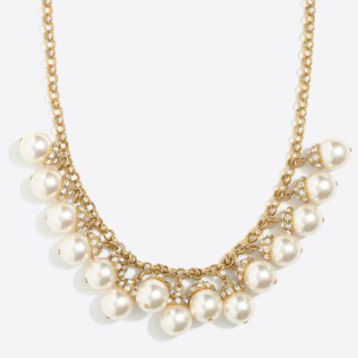 Pearl accent necklace factorywomen dress-up shop c