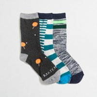 Boys' ping-pong socks three-pack