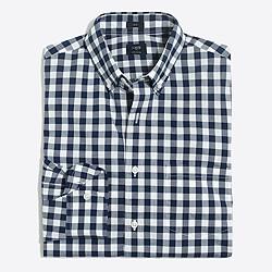 Slim flex washed shirt