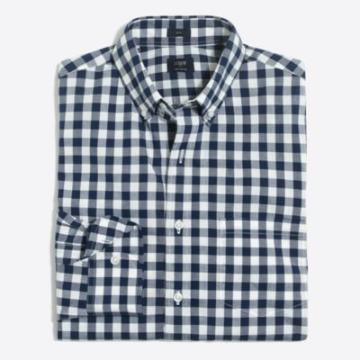 Slim flex washed shirt factorymen flex collection c