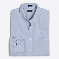 Slim flex washed shirt