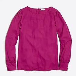 Boatneck blouse