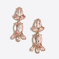 Crystal statement dangle earrings