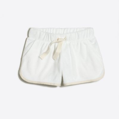 Girls' terry pull-on short factorygirls made-for-play basics under $25 c