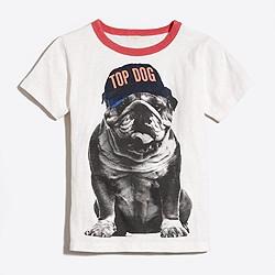 Boys' glow-in-the-dark top dog storybook T-shirt