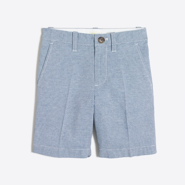 Boys' Gramercy short in cotton-linen