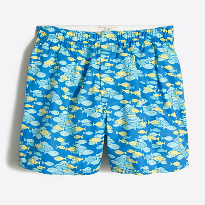 Tropical fish boxers