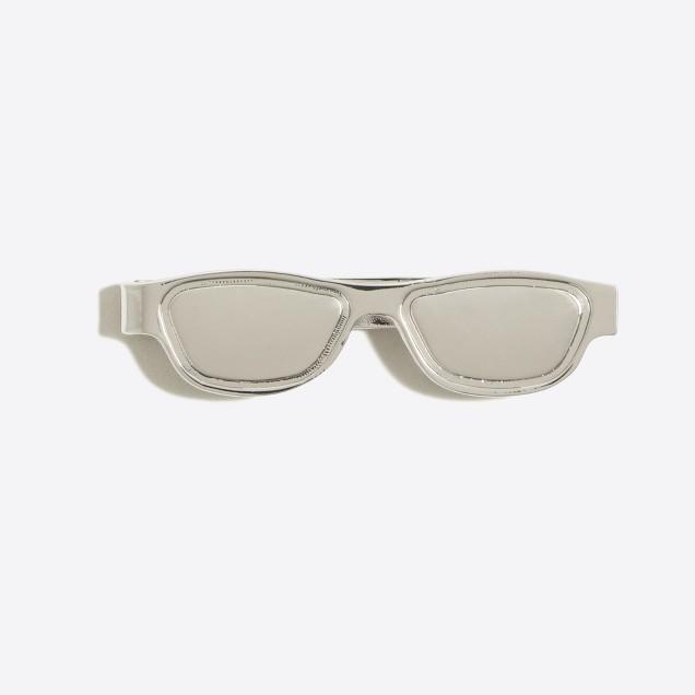 Sunglasses tie bar