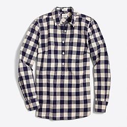 Gingham homespun shirt in perfect fit
