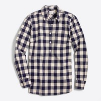 Gingham homespun shirt in perfect fit