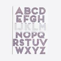 Kids' Meri Meri glitter alphabet stickers
