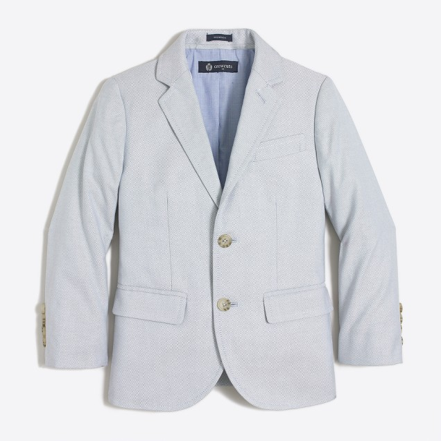 Boys' Thompson blazer in oxford