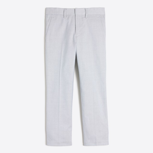 Boys' Thompson suit pant in oxford