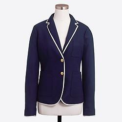 Tipped schoolboy blazer