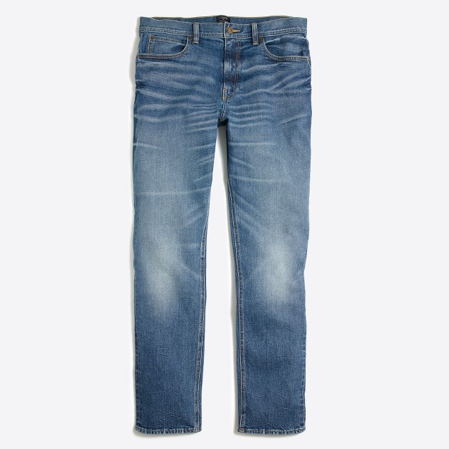 Stretch Sutton jean in Lucas wash