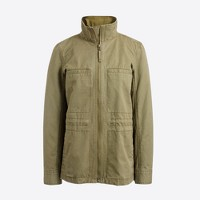 Cotton pocket jacket