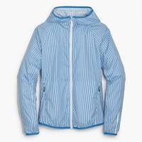 New Balance® for J.Crew windbreaker jacket in stripe