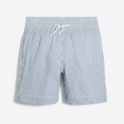 Boys' seersucker swim trunk factoryboys new arrivals c