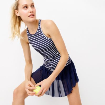 New Balance® for J.Crew tennis dress in stripe