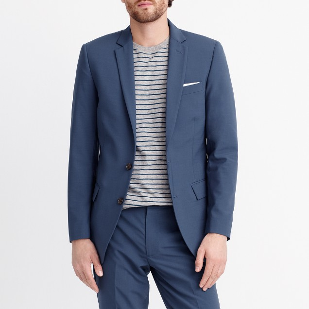 Thompson blazer in lightweight flex wool