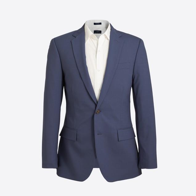 Slim Thompson suit jacket in lightweight flex wool : FactoryMen ...