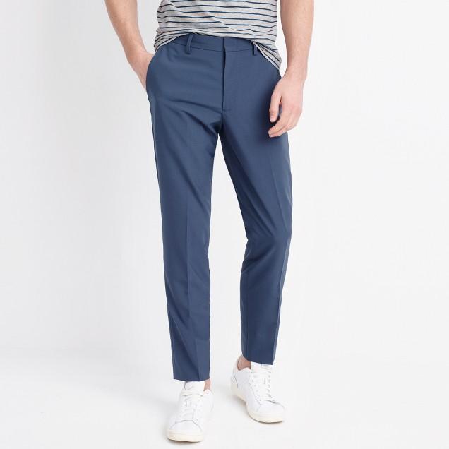 Slim Thompson suit pant in lightweight flex wool