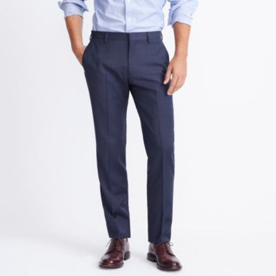 Slim Thompson suit pant in worsted wool factorymen pants c