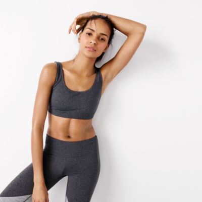 New Balance® for J.Crew performance scoopneck sports bra