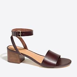 Block-heel sandals