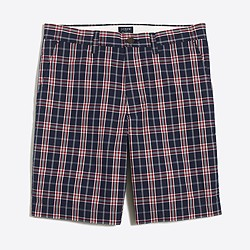 "9"" plaid Gramercy short"