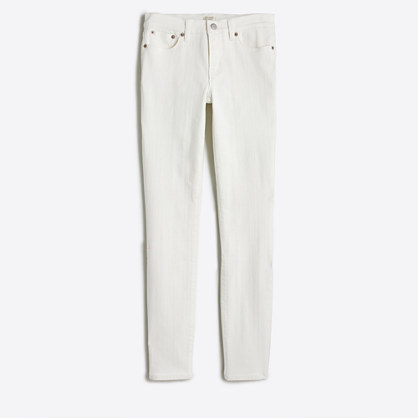 "White wash skinny jean with 28"" inseam"
