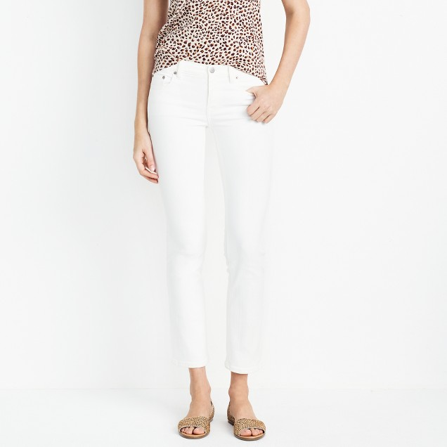 "White wash skinny jean with 30"" inseam"