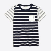 Boys' multistripe T-shirt