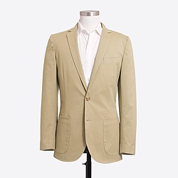 Thompson unconstructed flex chino blazer