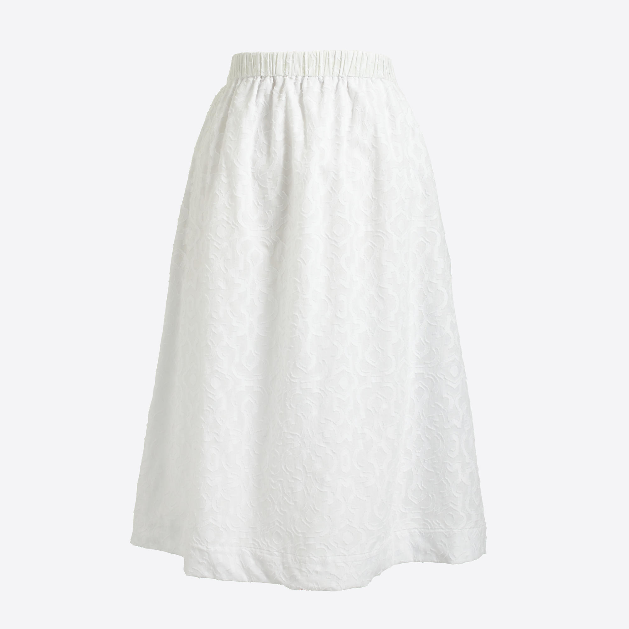 Cotton A-line midi skirt : FactoryWomen Sizes 18-20 | Factory