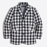 Boys' Thompson blazer in gingham