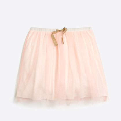 Girls' tulle skirt