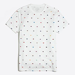 Slim nautical flags T-shirt