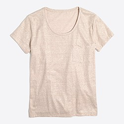 Shimmer pocket T-shirt