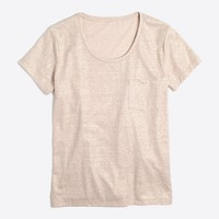 Shimmer pocket T-shirt