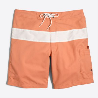 "9"" striped swim short factorymen swim c"