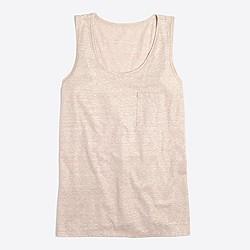 Shimmer tank top